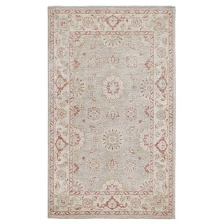 Pasargad N Y Hand-Knotted Ferehan Rug - 3' X 5' For Sale