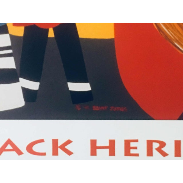 """1996 Black Heritage Art Show """"Celebration"""" Poster by Synthia Saint James For Sale - Image 10 of 11"""