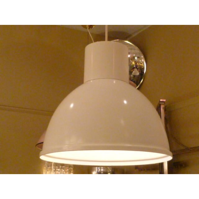 Lights Mod Danish Modern Metal Pendant, 1960s For Sale - Image 7 of 7