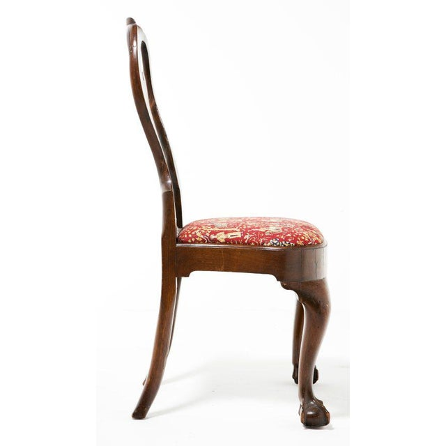 English Vintage Georgian Side Chair For Sale - Image 3 of 8