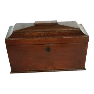 English Style 19th Century Regency Tea Caddy Box For Sale