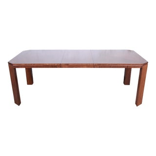 Charles Pfister for Baker Furniture Art Deco Primavera Extension Dining Table For Sale
