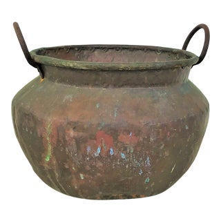 Late 19th Century Antique Copper Confectioners Pot For Sale