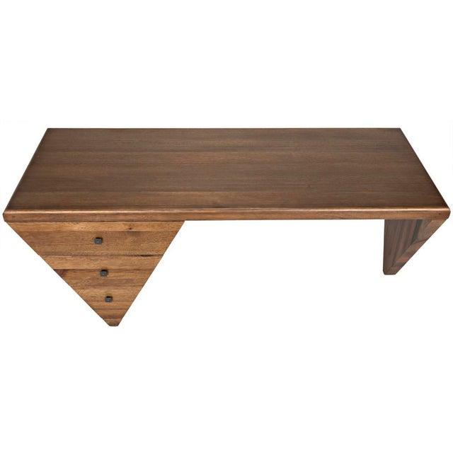 2020s Tetramo Desk, Dark Walnut For Sale - Image 5 of 13