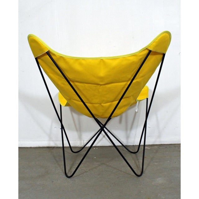 Mid 20th Century Mid-Century Modern Knoll Style Iron Butterfly Chair For Sale - Image 5 of 8