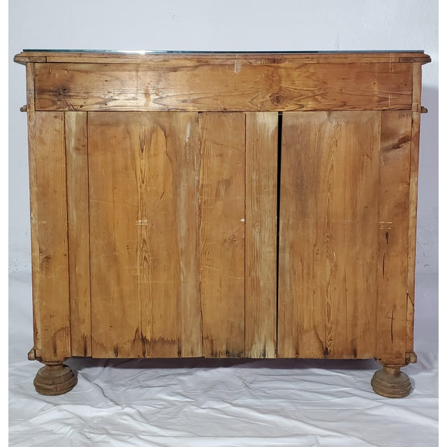 19th Century French Provincial Fruitwood Buffet For Sale - Image 4 of 7