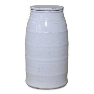White Ceramic Milk Jar, Medium Preview