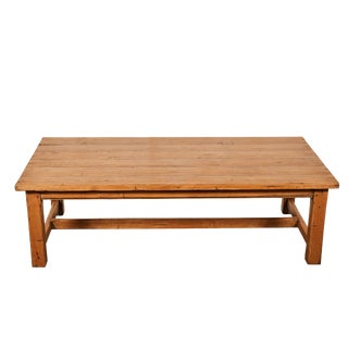 Vintage Pine Coffee Table For Sale