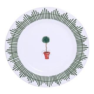 Vintage Giardino Salad Plate, Deruta of Italy For Sale