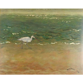 Shore Bird Painting For Sale