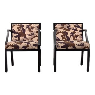 Pair of Chairs by Edward Wormley for Dunbar