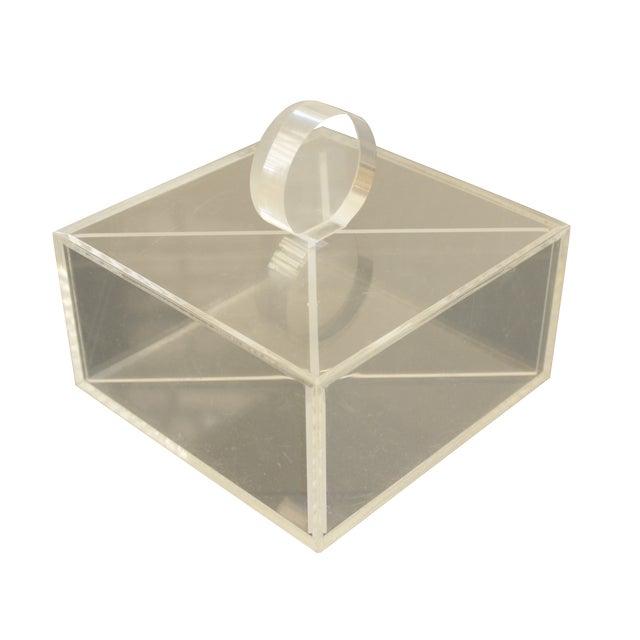 Lucite Decorative Box - Image 1 of 8