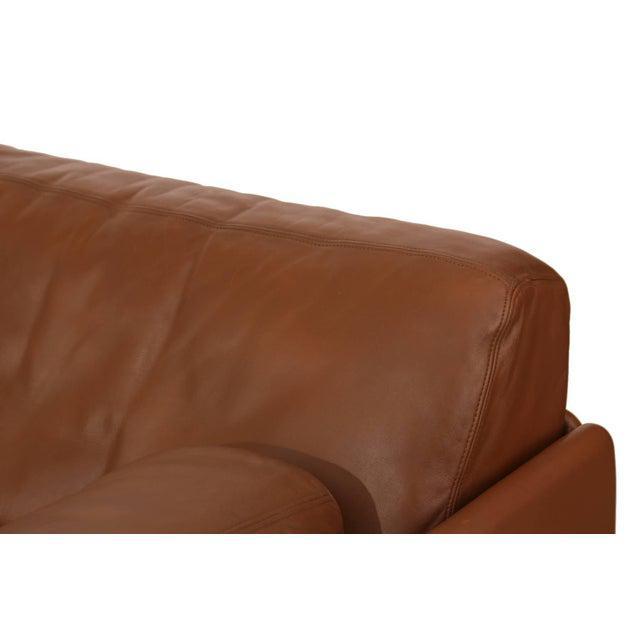 De Sede 1970s Vintage De Sede Convertible Leather Sofa For Sale - Image 4 of 5