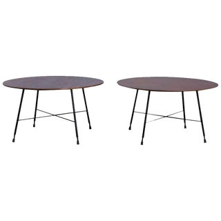A Pair of Ico Parisi Coffee Tables for Cassina, Italy, 1950s For Sale