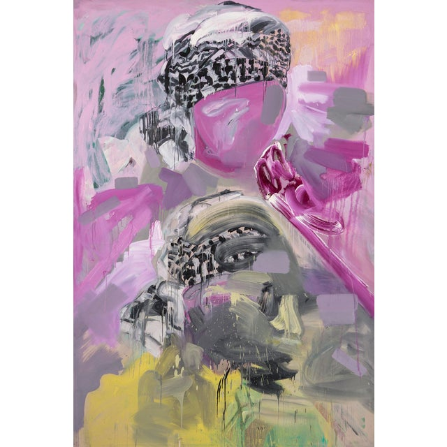 """Black Pamela Staker, """"Two Heads"""" For Sale - Image 8 of 8"""