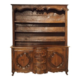 17th Century French Oak Vaisselier, Lorraine, Circa 1680 For Sale