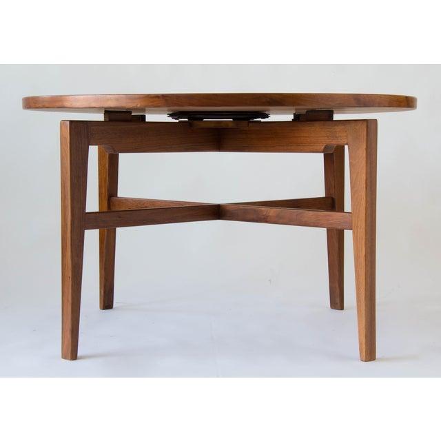 Jens Risom Jens Risom Lazy Susan Game Table For Sale - Image 4 of 6