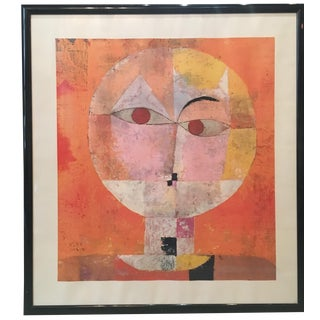 Paul Klee Modern Head of a Man Art Print For Sale