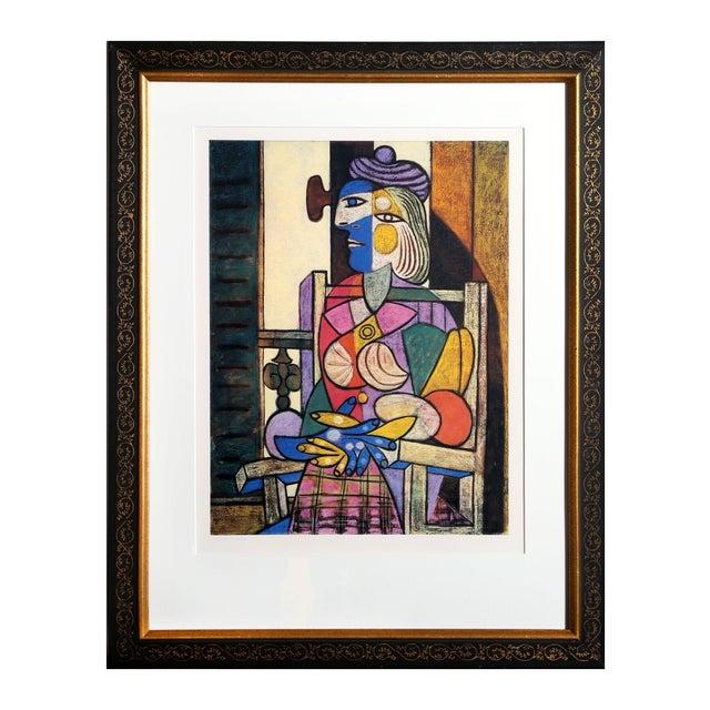"""Pablo Picasso """"Femme Assise Devant Sa Fenetre"""" For Sale"""