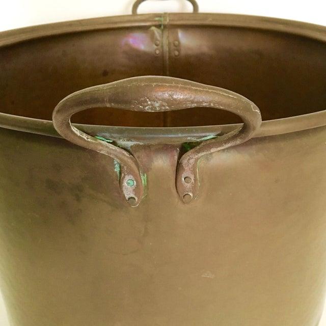 Vintage Rustic Copper Pot - Image 7 of 7