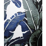 """Image of """"Banana Leaves, 4"""" Contemporary Still Life Acrylic On Canvas Painting 2015 For Sale"""