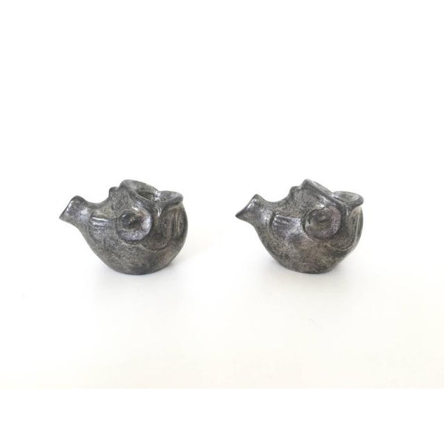 Just Andersen Miniature Fish Candle Holders - A Pair For Sale - Image 5 of 10