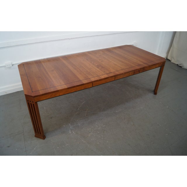 Stickley 21st Century Arts & Crafts Dining Table - Image 10 of 10