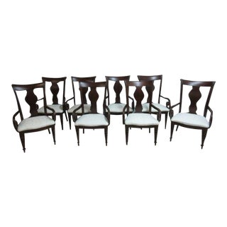 Pennsylvania House Cherry Cortland Manor Dining Chairs - Set of 8 For Sale