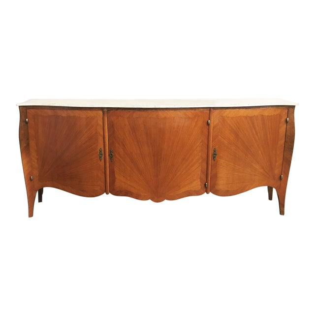 French Transitional Louis XV / XVI Buffet For Sale