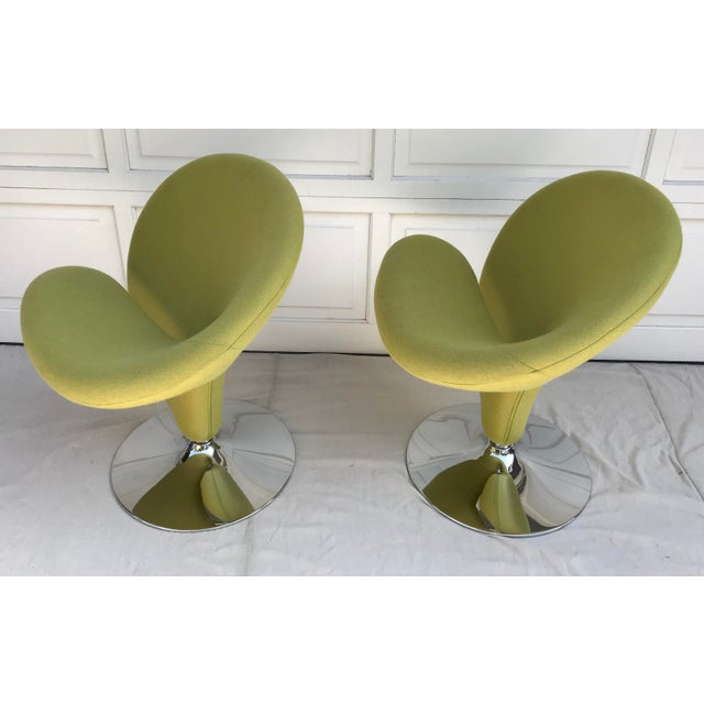 1980s 1980s Vintage Post Modern Spiral Chairs- A Pair For Sale - Image 5 of 8
