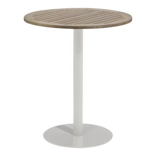 "36"" Round Outdoor Bar Table, Vintage For Sale"
