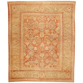 Exceptional Mid-19th Century Persian Sultanabad Carpet For Sale