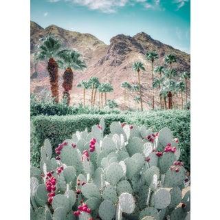 """Palm Springs - Desert Blue"" Contemporary Landscape Photograph Print For Sale"