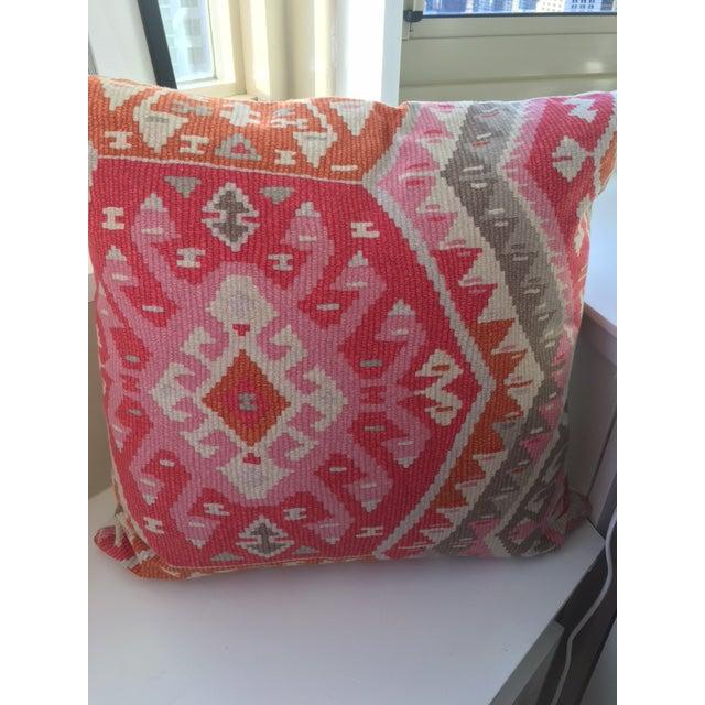 Aztec Print Throw Pillows - A Pair - Image 3 of 3
