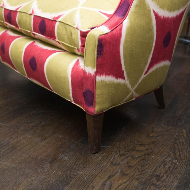 Custom Upholstered Down-Filled Loveseat - Image 9 of 9