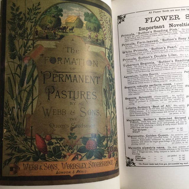 """1995 """"The Victorian Garden Catalogue"""" Book For Sale In New York - Image 6 of 11"""