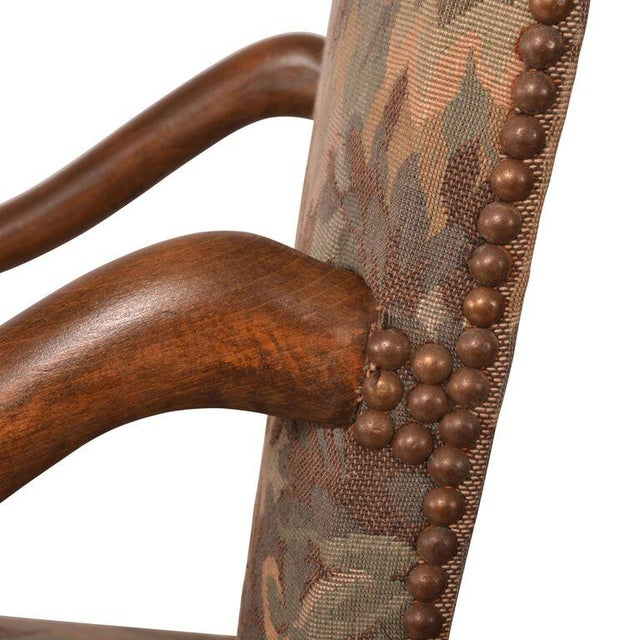 French Antique Arm Chairs - A Pair - Image 4 of 5