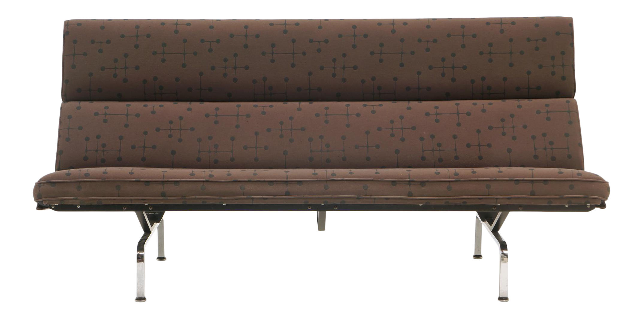 Distinguished Charles And Ray Eames Sofa Compact For