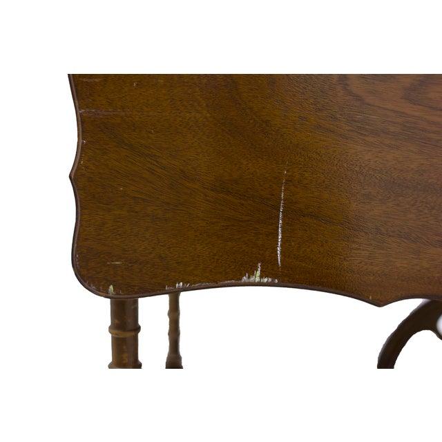 Mid-Century Wood Bar Cart - Image 5 of 5