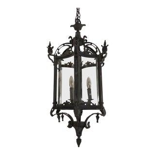 Restoration Hardware 3ft 19th C. Salerno Streetlight Pendant For Sale