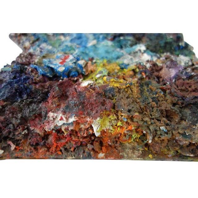 Paint Vintage Artist's Paint Palette For Sale - Image 7 of 8