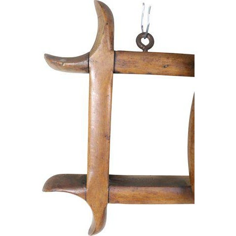 Vintage French Thonet-style bentwood coat rack dating from the beginning of the 20th century. Original finish. Found near...