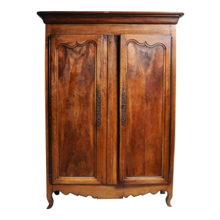French Walnut Armoire For Sale
