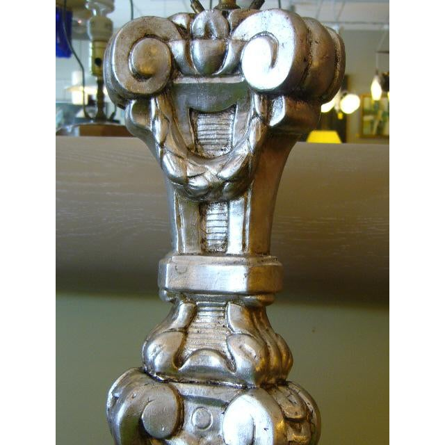 Late 18th Century Italian Silver Gilt Altar Pricket Table Lamps - A Pair For Sale In Miami - Image 6 of 11