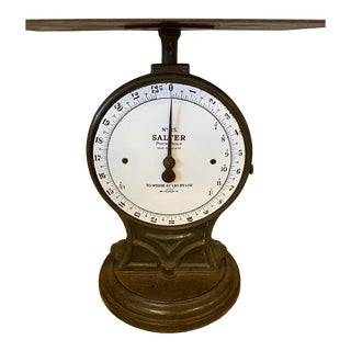 Antique English Salter Postal Scale For Sale