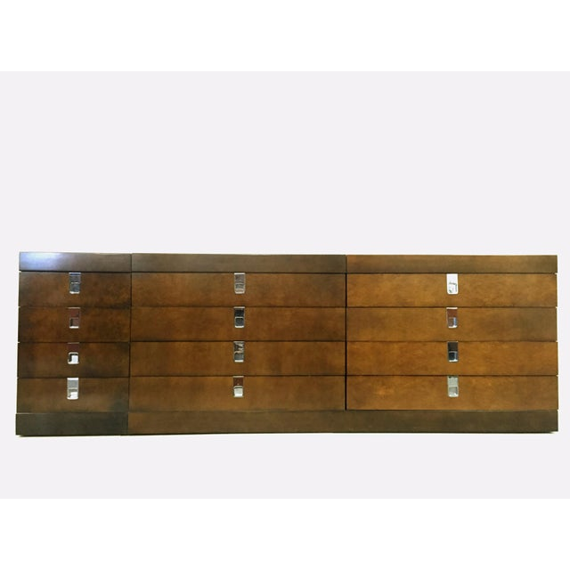 Wood Brian Palmer for Baker Furniture Bedroom Set For Sale - Image 7 of 10