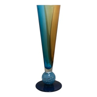 Evolution Waterford Art Glass Vase For Sale