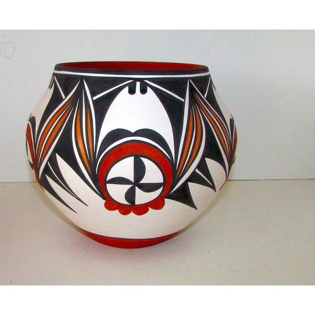 Rustic Acoma D. Antonio Pueblo Pottery For Sale - Image 3 of 5