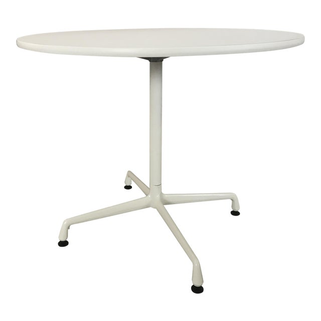 Eames White Universal Base Dining Table