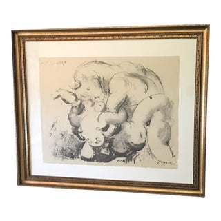 "Picasso ""The Minotaur"" Lithograph Print For Sale"